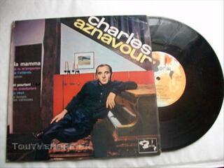 Vinyl 25cm charles aznavour