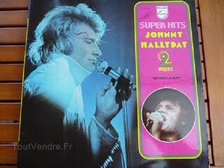 """Vinyl Double LP """"Johnny HALLYDAY"""" (Voir commentaires)"""
