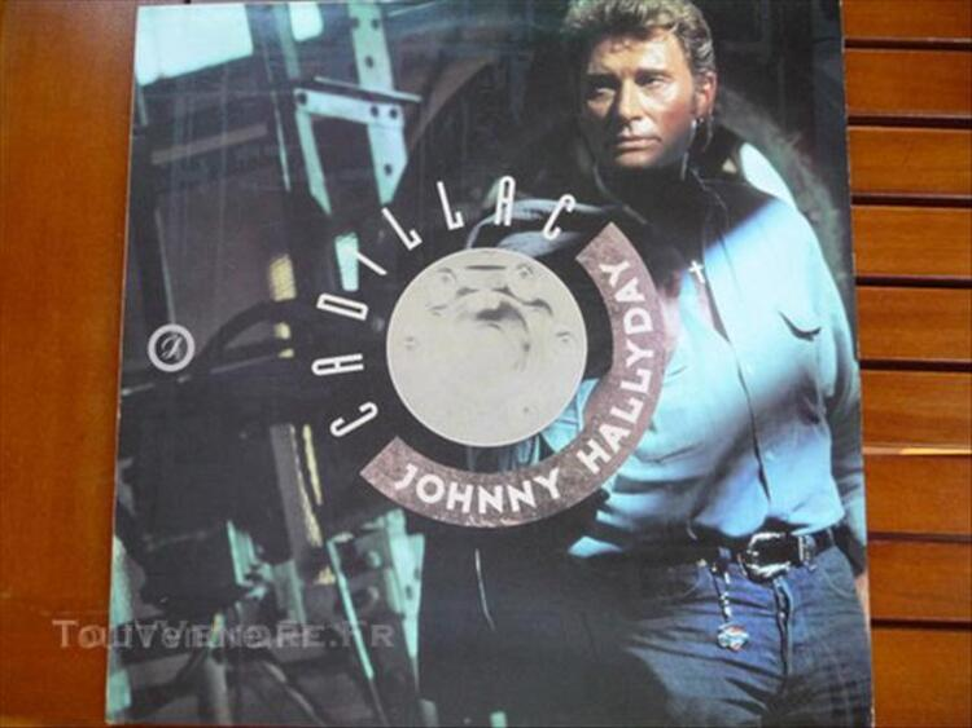 "Vinyl LP ""Johnny HALLYDAY"" (1) Voir commentaires 45571356"