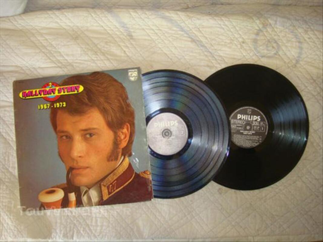 Vinyle 33T Johnny hallyday 49320057
