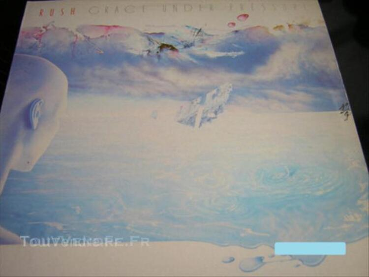 VINYLE 33T LP RUSH GRACE UNDER PRESSURE HARD ROCK METAL 44991251