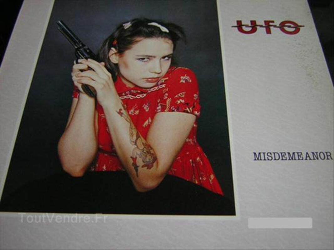 VINYLE 33T LP UFO MISS DEMEANOR HARD ROCK METAL 56029916