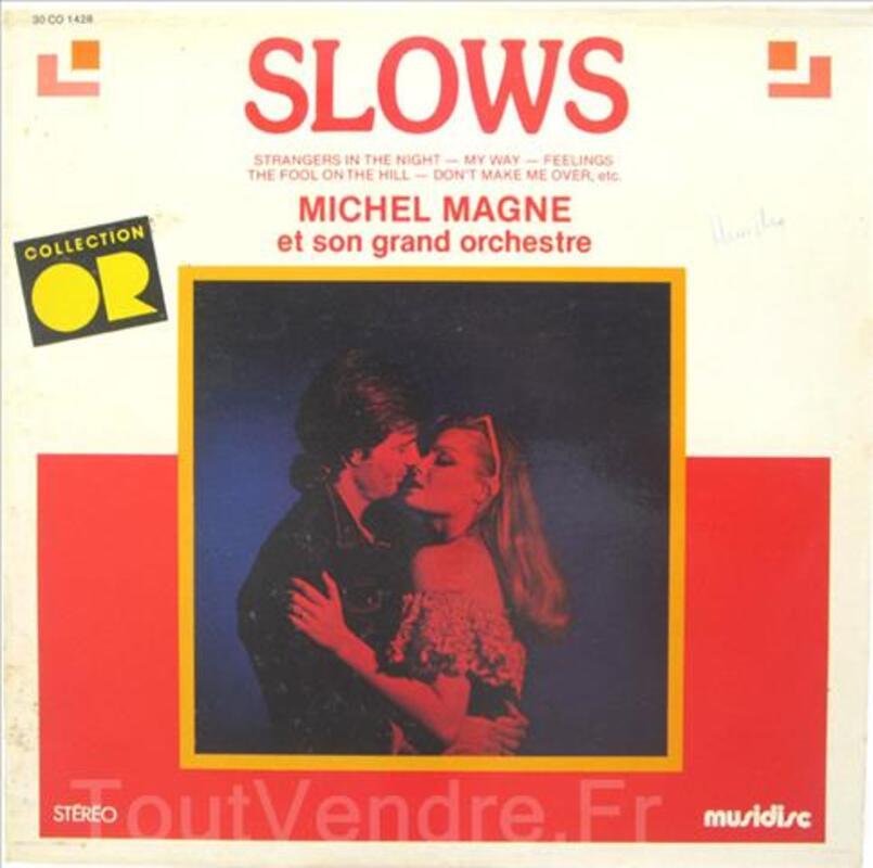 Vinyle 33T Slows michel Magne, son grand orchestre 91591039