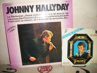 Vinyles  JOHNNY  HALLYDAY