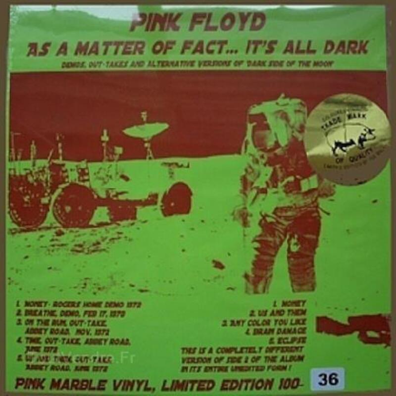 Vinyles Pink Floyd Trade Mark Of Quality, Swinging Dog 89825178