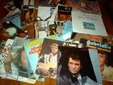 Vinyls 45t de johnny hallyday