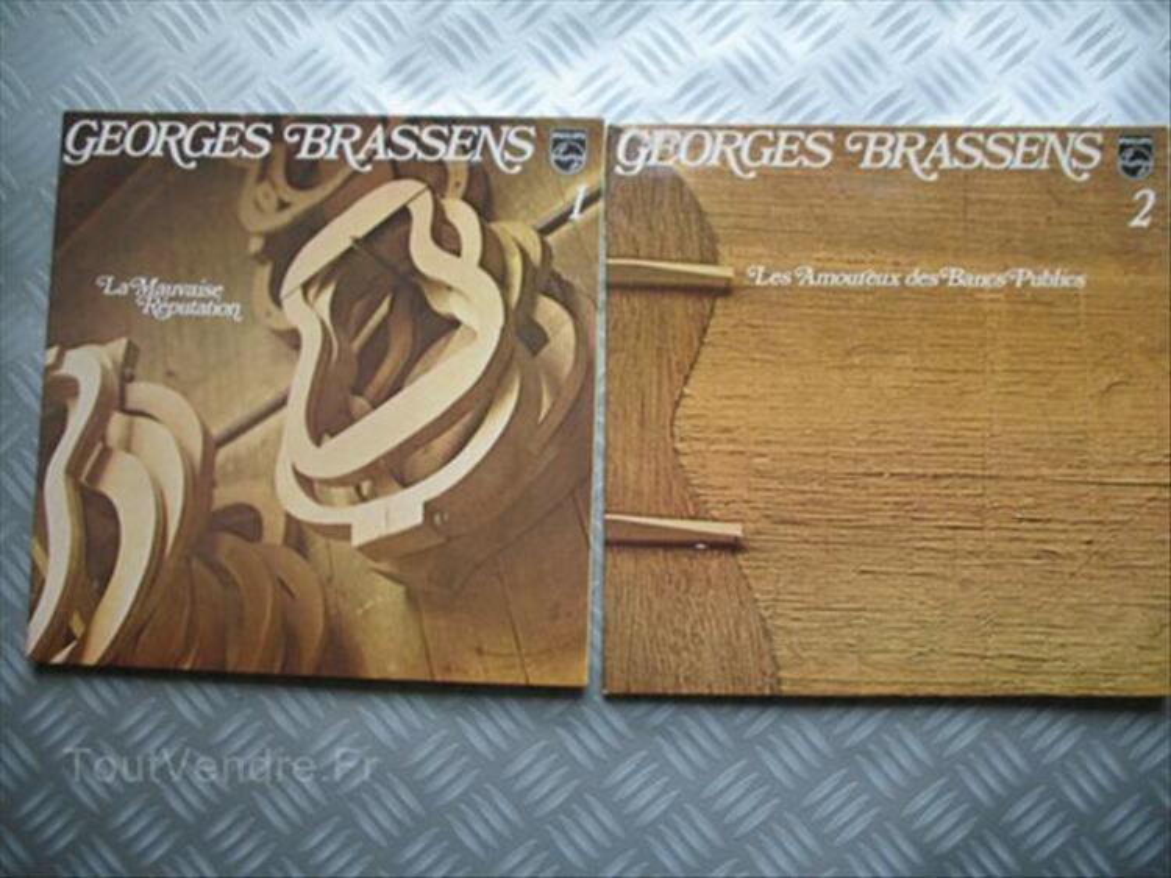 VINYLS LP 33 T  BRASSENS 56440543