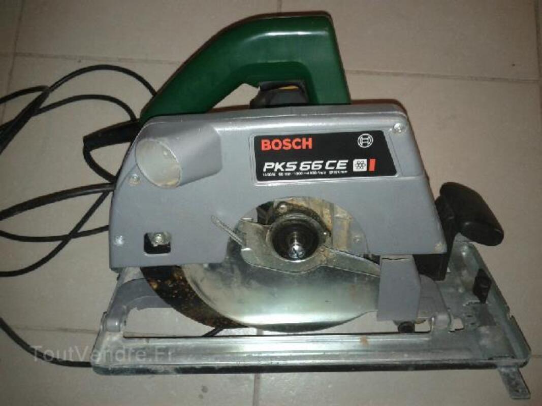 Voici une scie circulaire de marque Bosch model pks 66 92490550