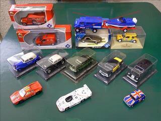 Voitures taxis,  rallye, pompier, le Mans 1/43