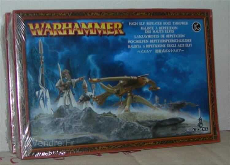 WARHAMMER BALISTE A REPETITION DES HAUTS ELFES 55980080