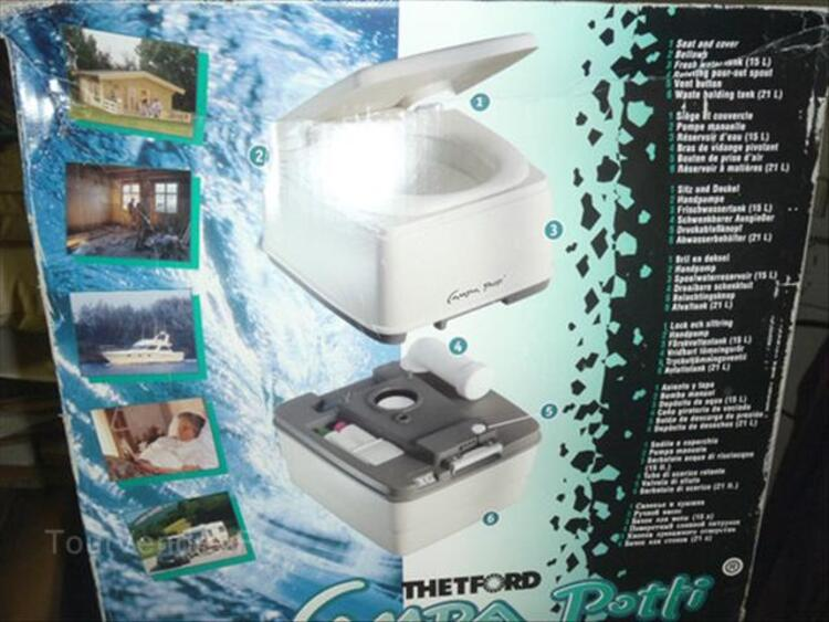 """WC chimique portable """"THETFORD CAMPA """" 64443656"""
