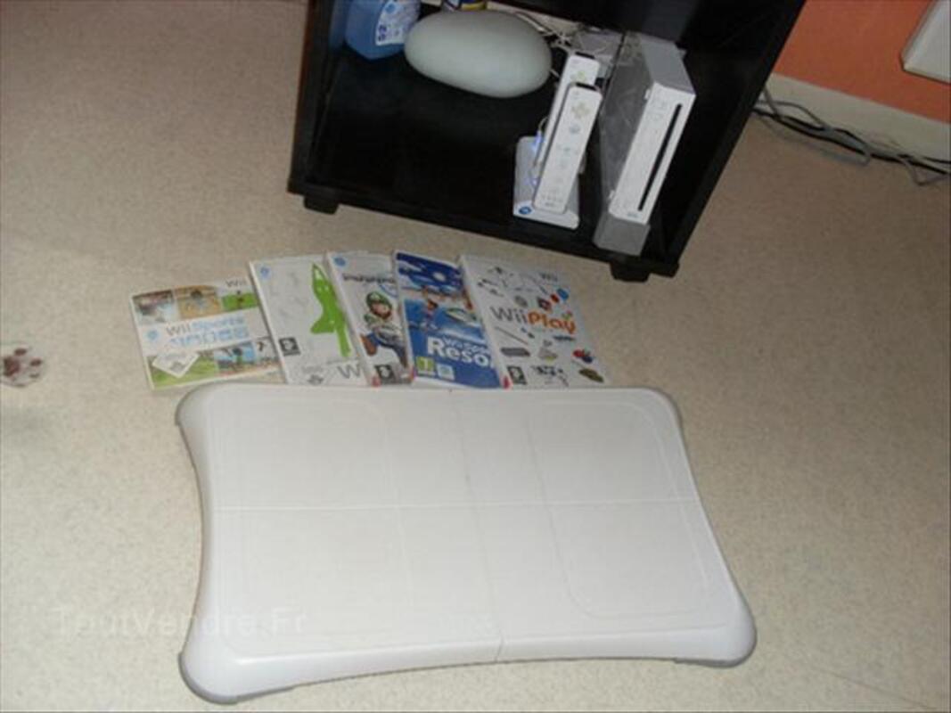 Wii complète avec balance board et 6 jeux 64471316