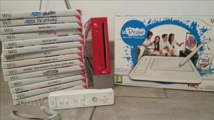 Wii rouge 96402994