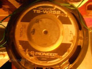 Woofer+tweeter 2x4 voies 2x 150 watts 4 homs