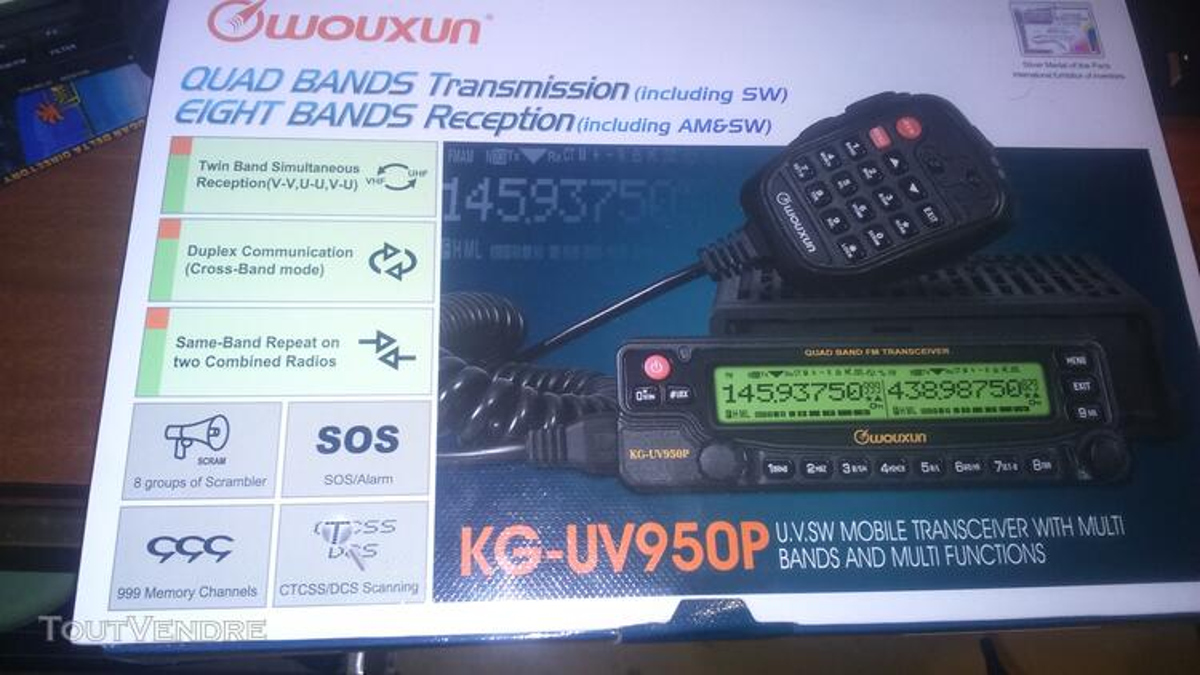 Wouxun uv950p 139722671