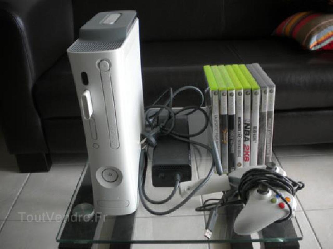 XBOX 360 Comme Neuve + Jeux 97119895