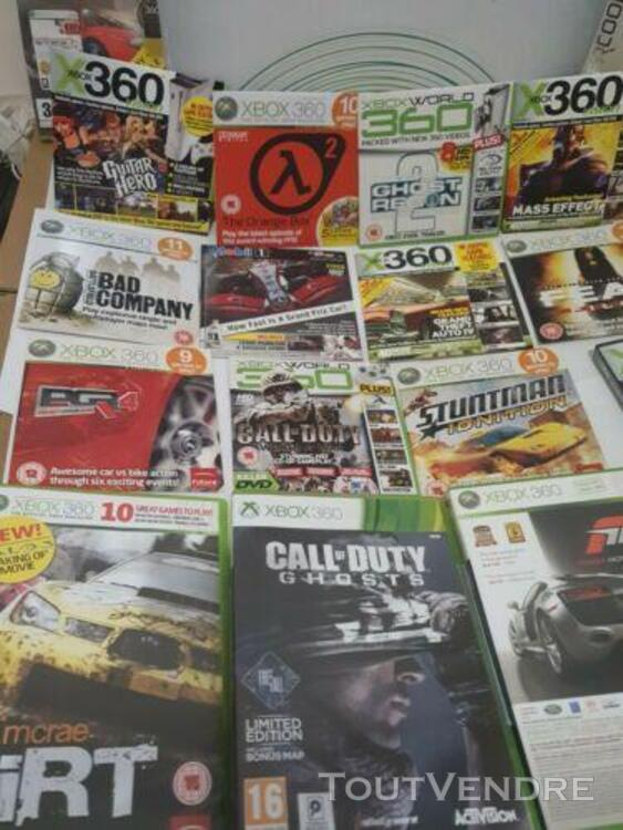 Xbox 360 Console Bundle, very rare games included. 790139200