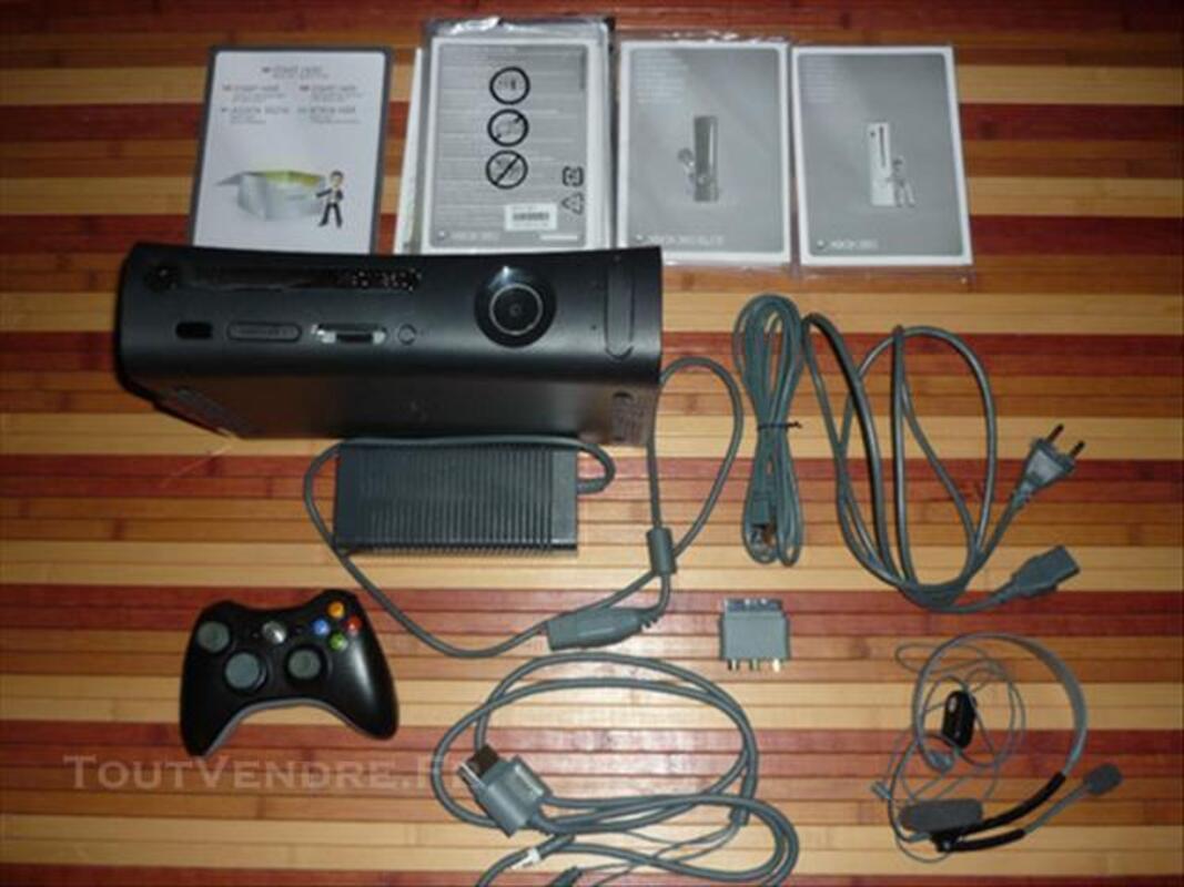 XBox 360 Elite 120Gb + 14 jeux 82668273