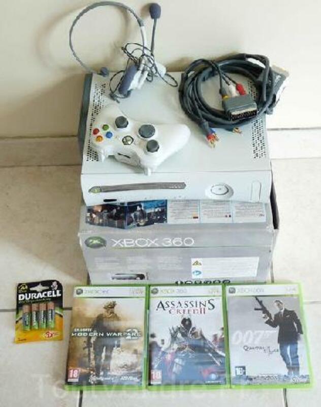 XBOX 360 pas chère neuve & 3 jeux neufs 91476258