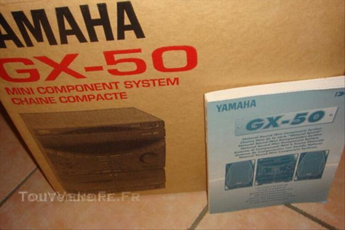 YAMAHA chaine hifi 44959536
