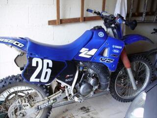 Yamaha dt cross