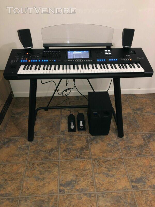 Yamaha Genos 76-key - clavier de station de travail 536415485