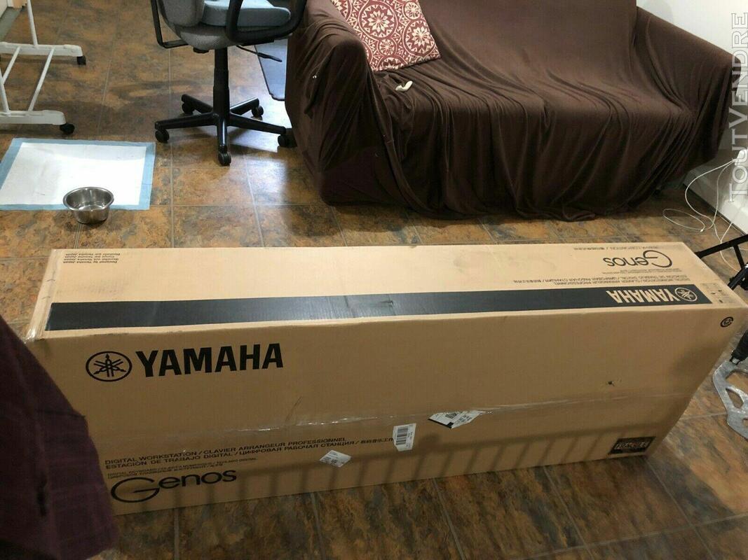 Yamaha Genos 76-key - clavier de station de travail 536415497
