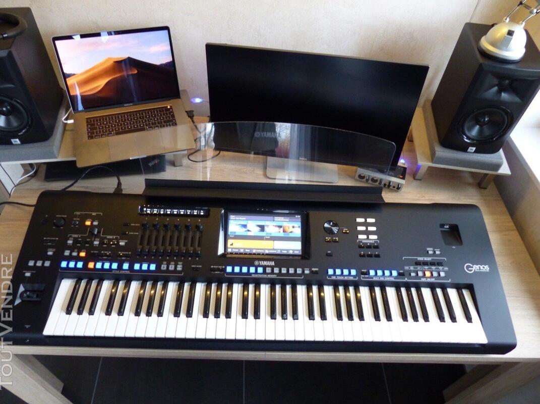Yamaha Genos Digital Workstation Keyboard 457438683