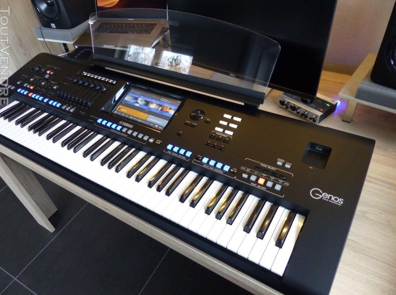 Yamaha Genos Digital Workstation Keyboard 457438686