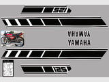Yamaha RD 125, 250 X,  Kit déco stickers