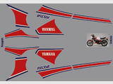 Yamaha RD350LC 83 (31K), Kit déco, stickers