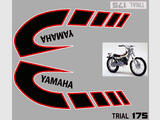 Yamaha TY175 (525) 77/79, Kit déco, stickers