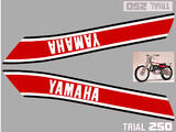 Yamaha TY250 (516), Kit déco, stickers