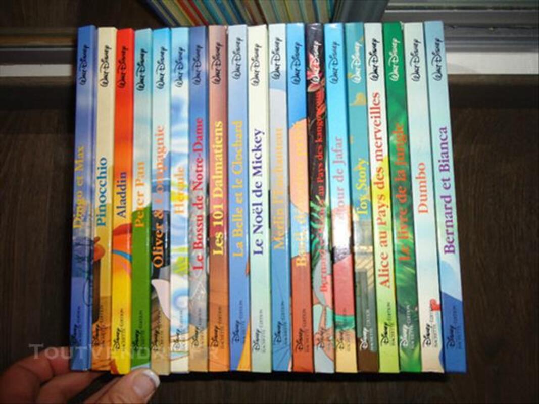 15 Livres Disney Hachette Edition Monthureux Le Sec 88800