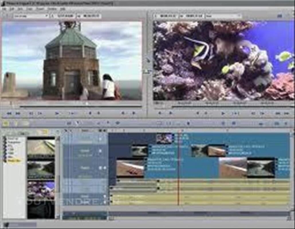 Phần mềm làm phim, dựng phim chuyên nghiệp nhất - Avid Liquid 7.2 Full. 3