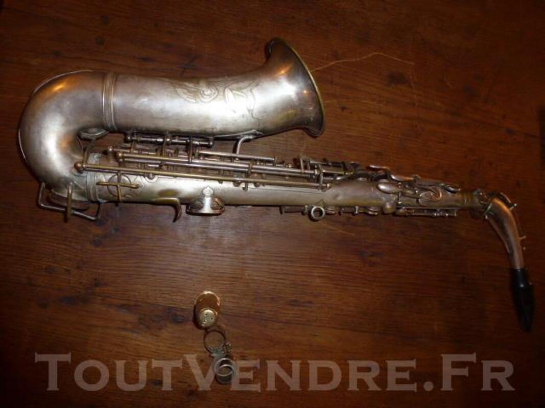 Ancien saxophone strasser marigaux lemaire super 41