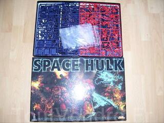 """BOITE """" SPACE HULK """" V3  NEUVE SANS BLISTER COMPLETE"""