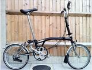 BROMPTON M6L - X NOIR TITANE TI SUPERLIGHT vélo plian