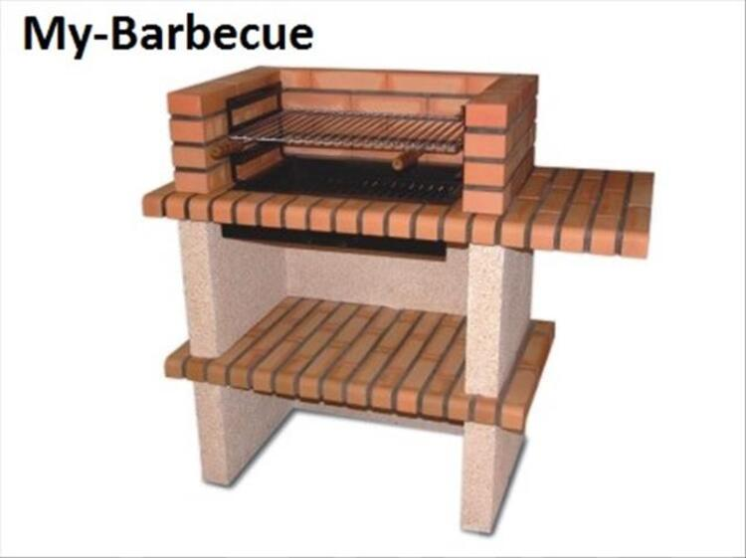 Barbecue en Brique Refractaire AV0050F