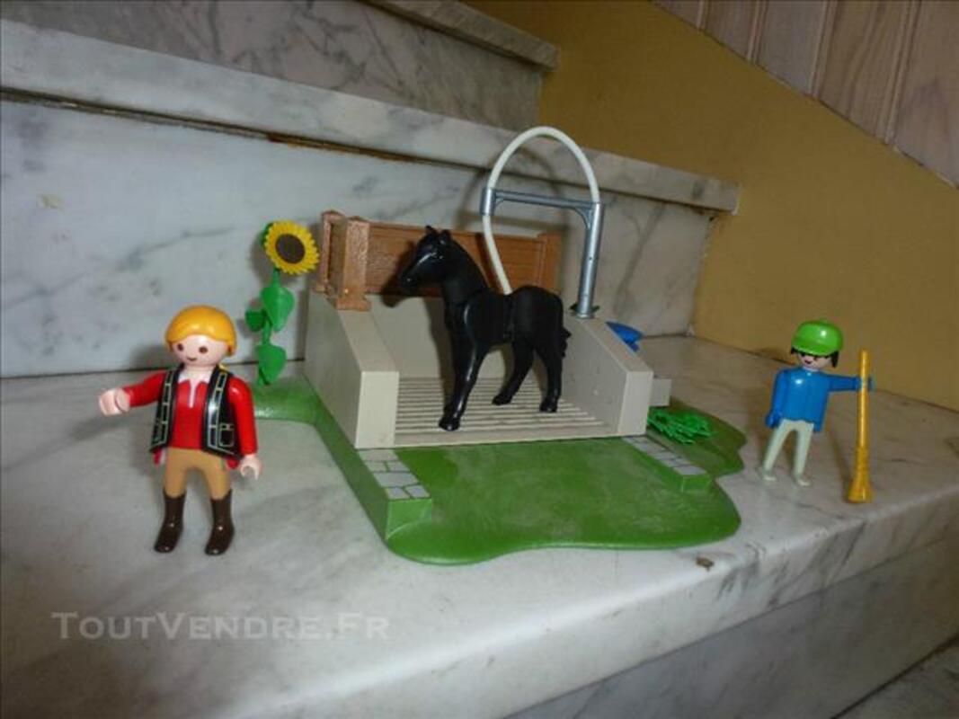 Box de lavage chevaux playmobil