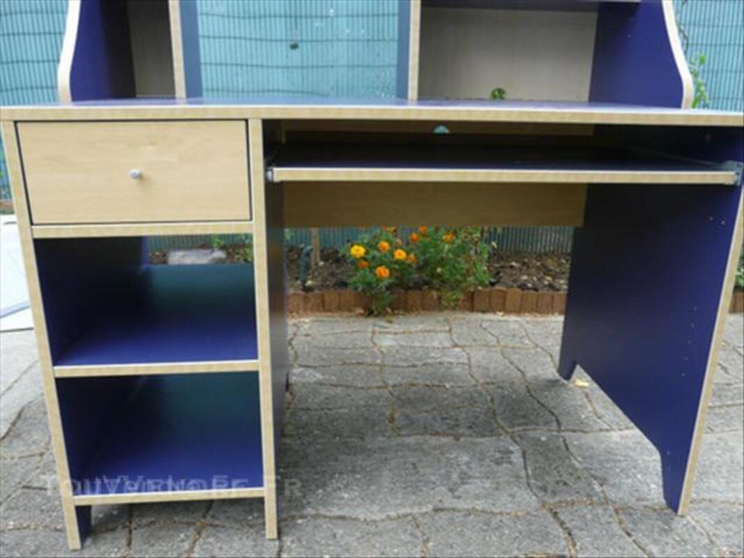 Bureau bleu ikea u table de lit
