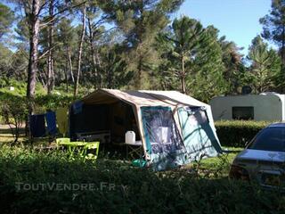 Caravane pliante toile Trigano