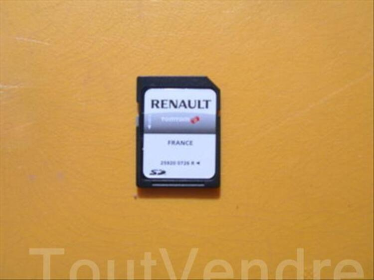 carte gps france renault