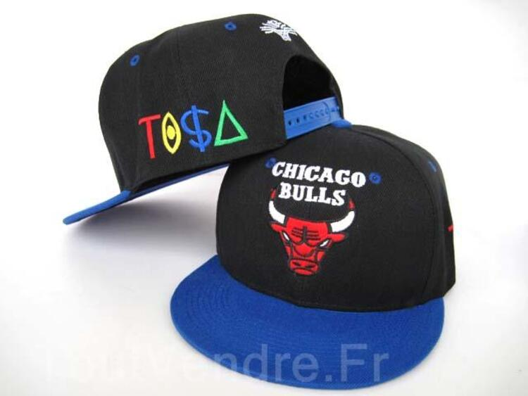 Casquette Snapback Chicago bulls tisa