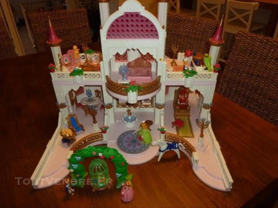 Chateau Princesse Playmobil equipé