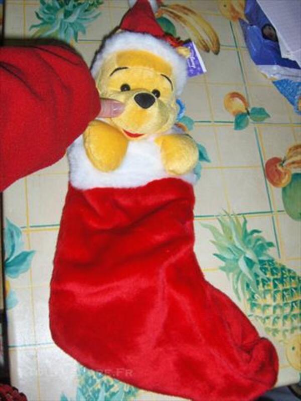chaussette de noel winnie toute neuve disney store 83862356 - Chaussette De Noel Disney