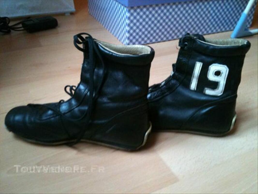 Chaussures T 36 façon boxe