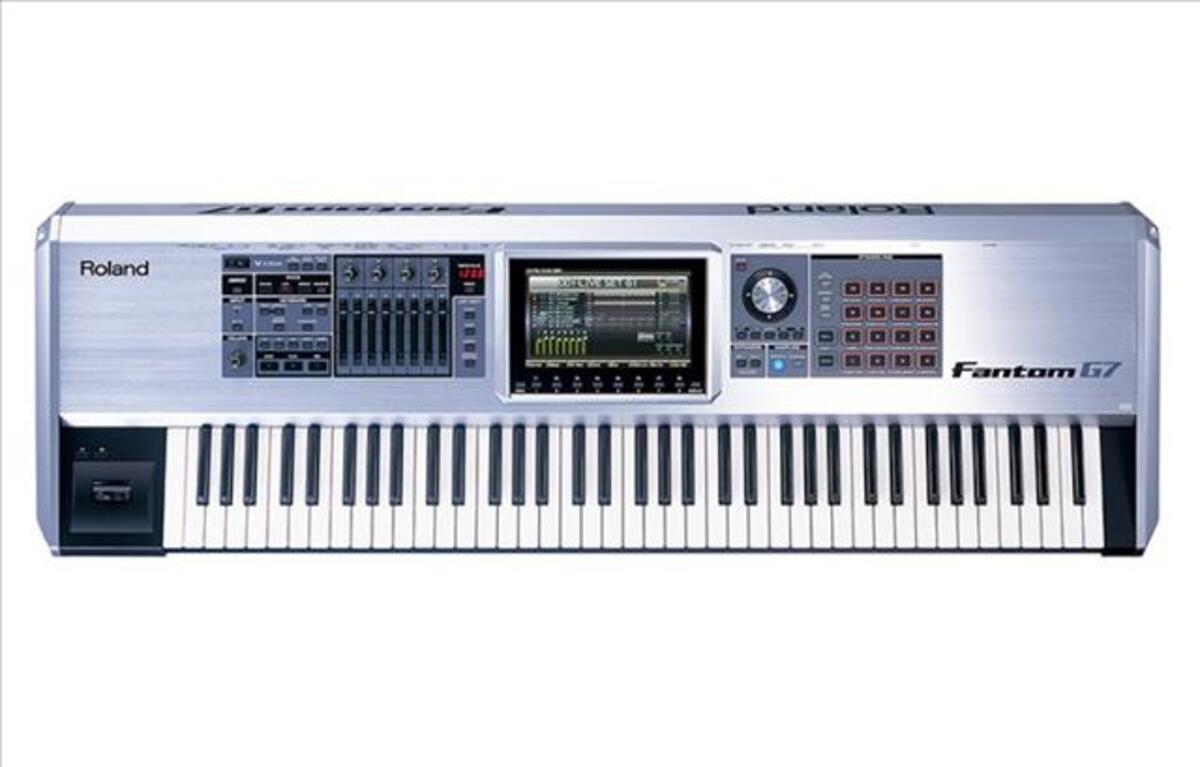Clavier ,synthétiseur,workstation,ROLAND FANTOM G7
