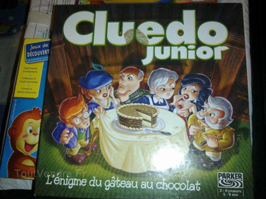 cluedo junior / l'énigme du gateau au chocolat 5/8 ans neufvy-sur