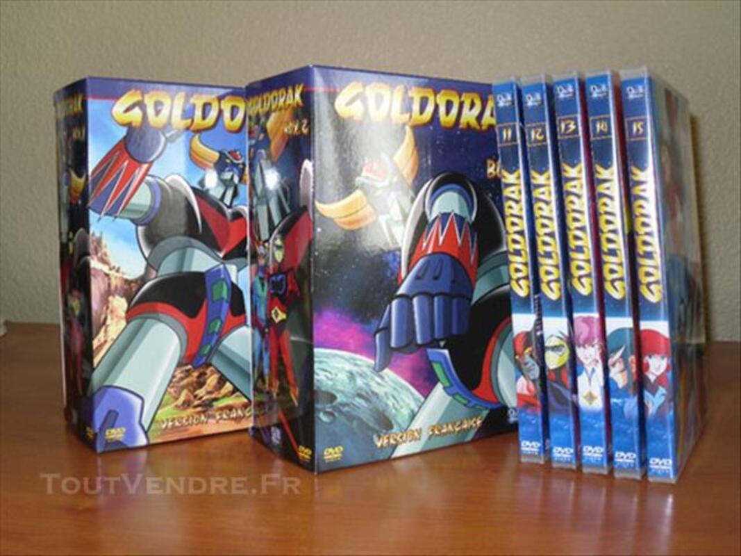 goldorak dvd box